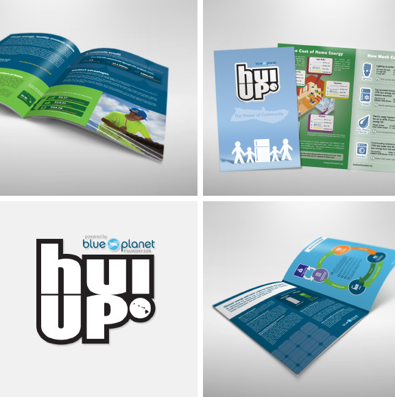 Blue Planet Foundation Brochures and Logo