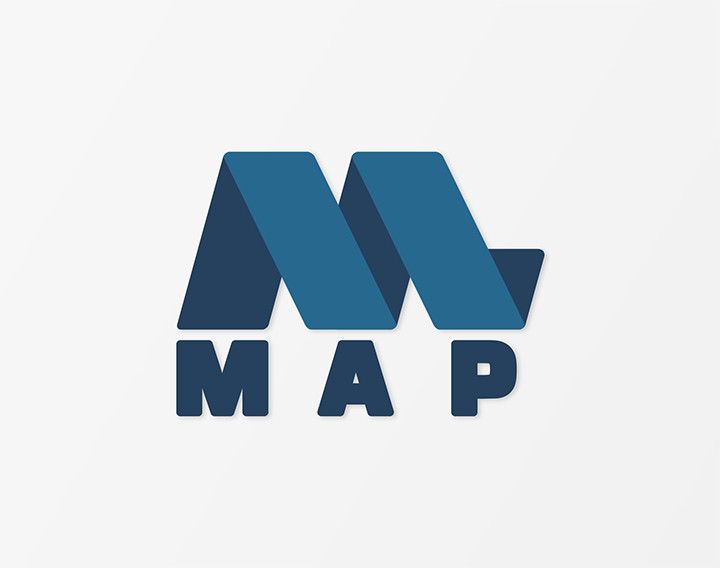 map logo christopher green design