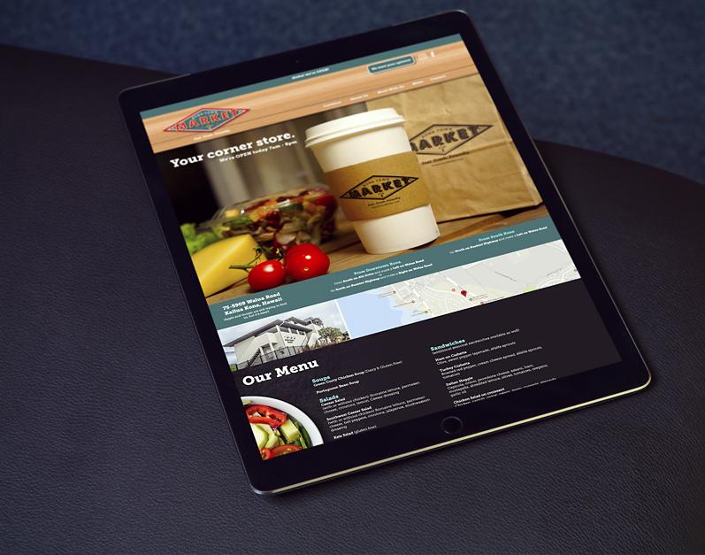 Kona Town Market Web Site