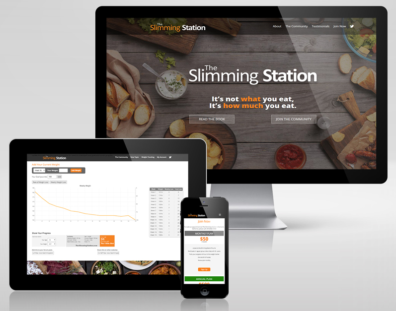 The Slimming Station Web Site