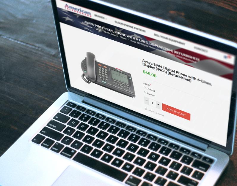 American Telebrokers ecommerce web site
