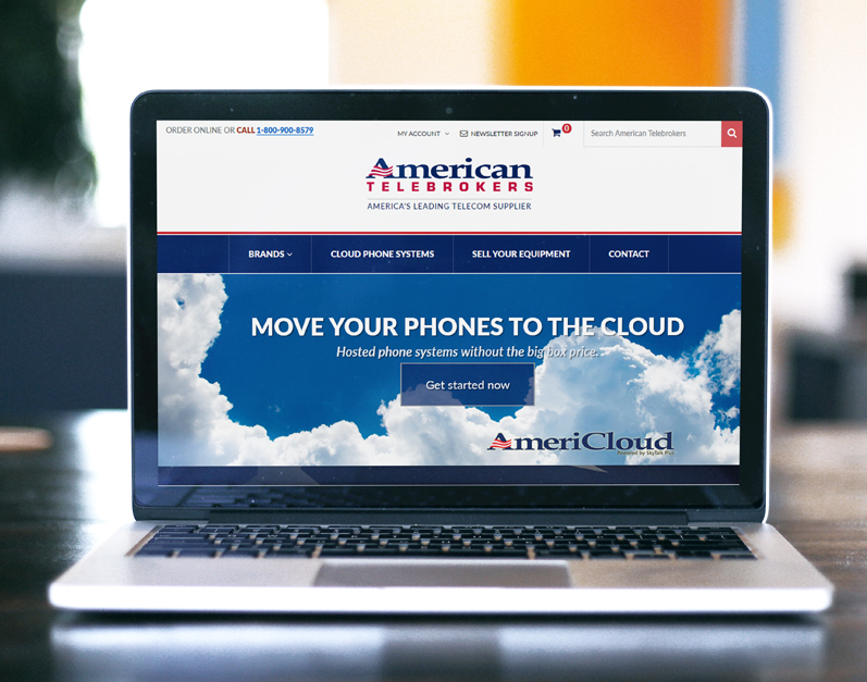 American Telebrokers ecommerce website