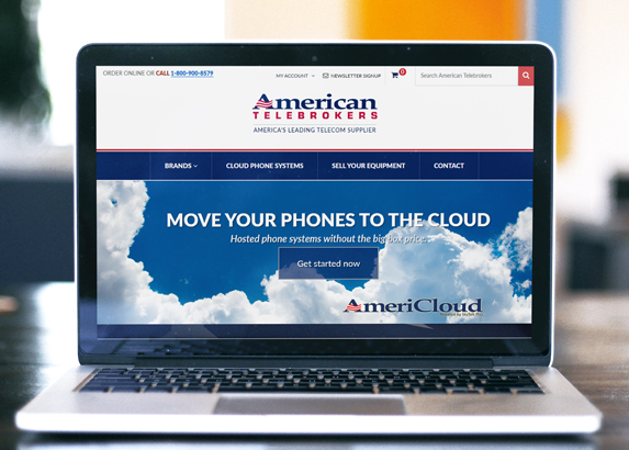 American Telebrokers ecommerce web site