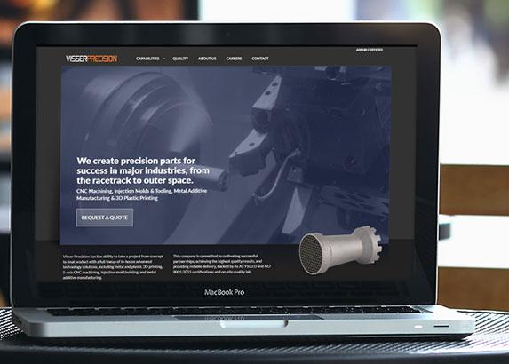 Visser Precision Web Site